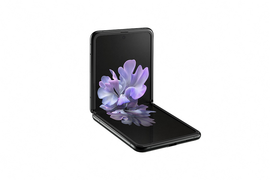 Samsung Galaxy Z Flip folded
