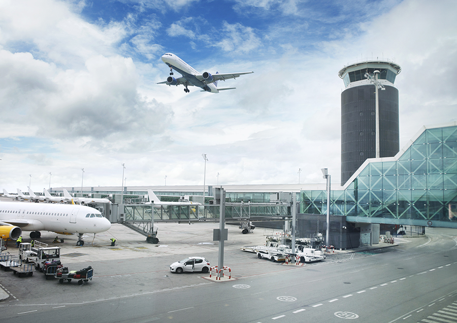 Airports with modern power infrastructures