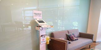 MedCheck Telehealth Kiosk at a Smart GP Clinic
