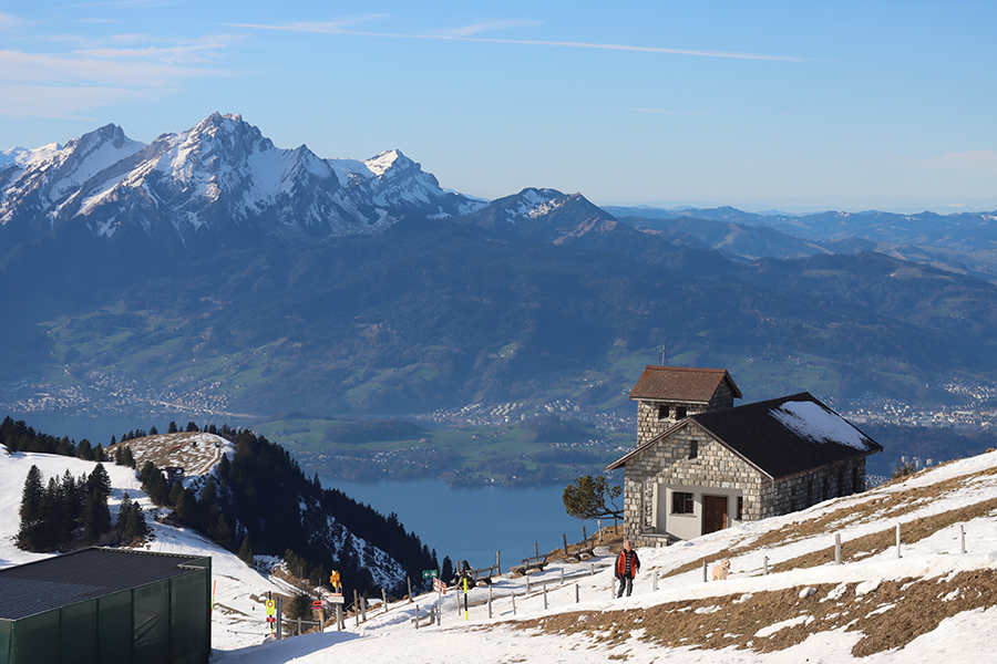 Swiss alps photo taken with the Canon EOS M6 Mark II