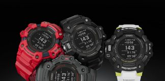 The Casio G-Shock GBD-H1000 fitness watch