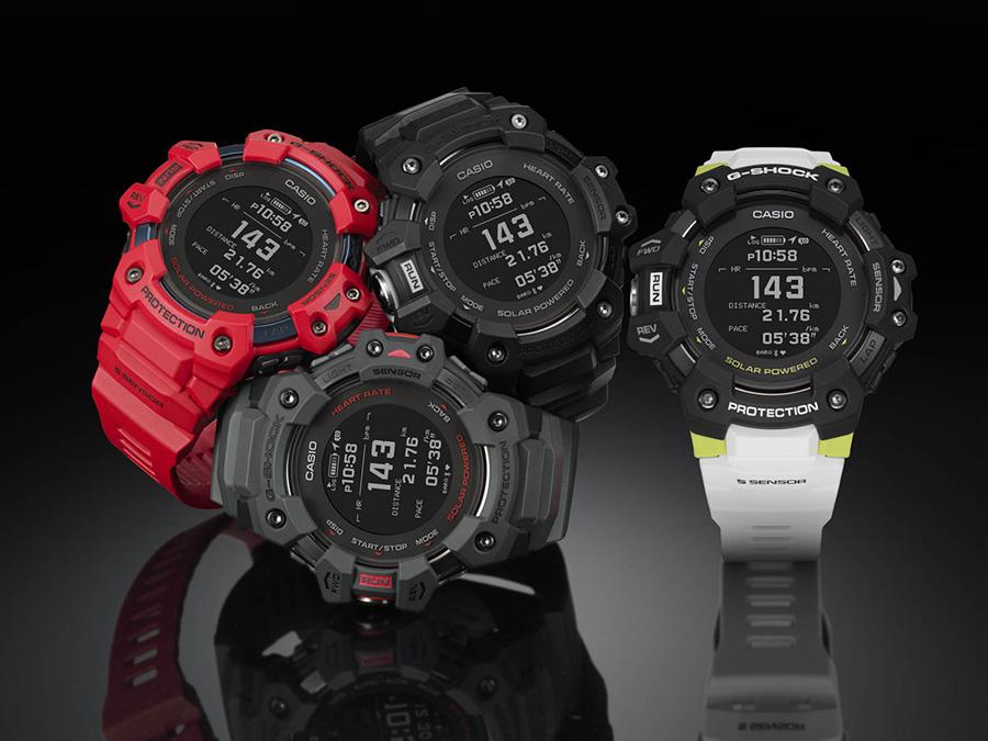 The Casio G-Shock GBD-H1000 fitness watch