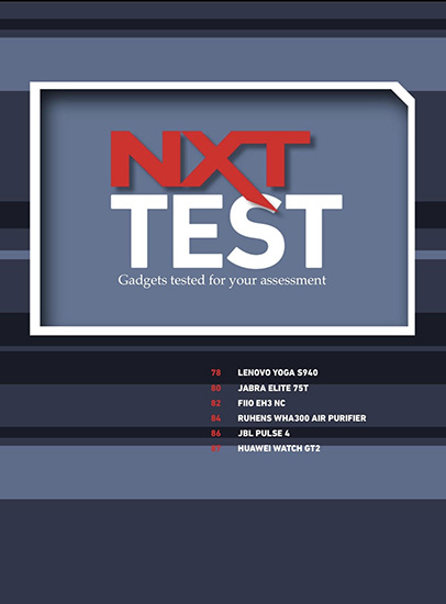 NXT March 2020 issue Test