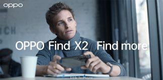 Eddie Redmayne in Oppo Find X2 ad