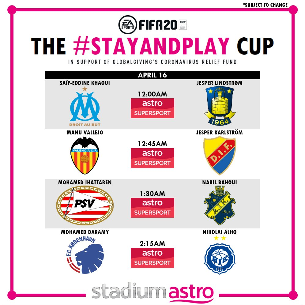 #StayandPlay Cup