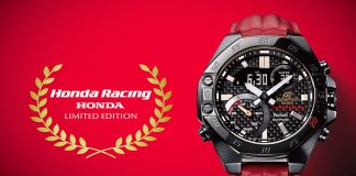 Casio ECB-10HR released with Honda Racing