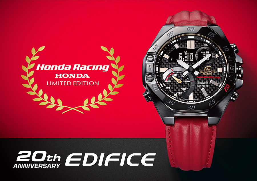 Casio ECB-10HR released with Honda Racing