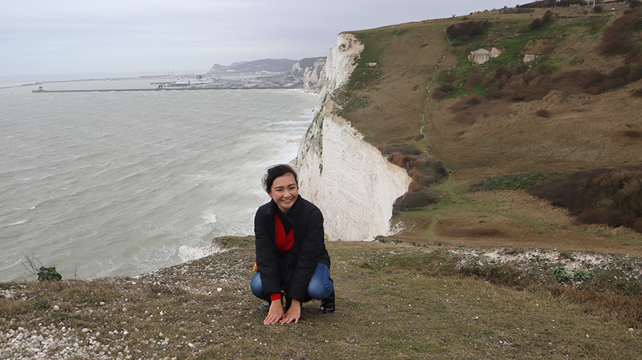Han Yun in Dover with the Canon EOS M200