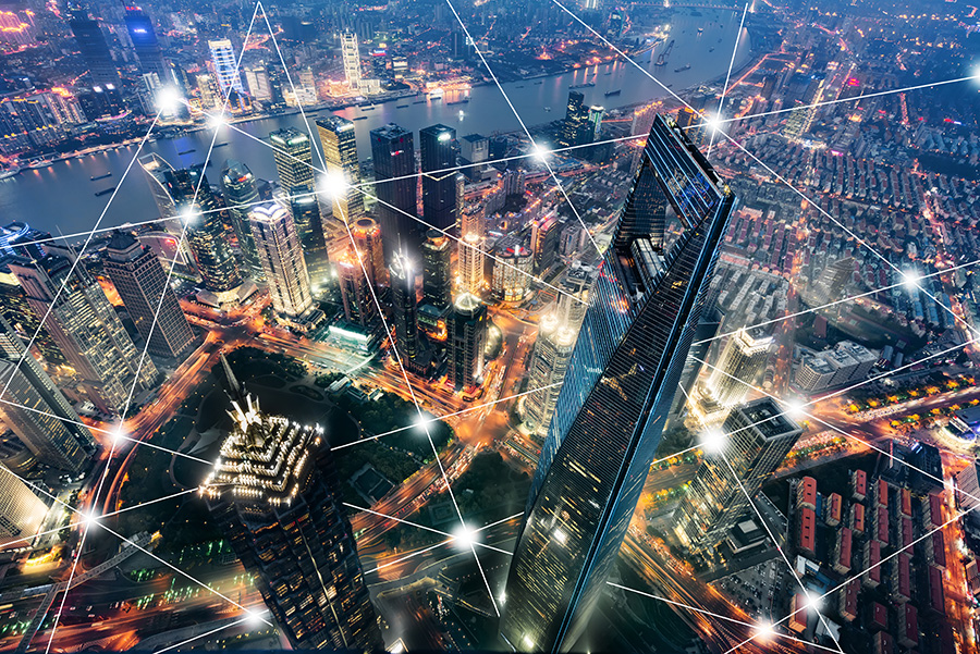Smart City Shanghai City Network Technology City Communication Technology