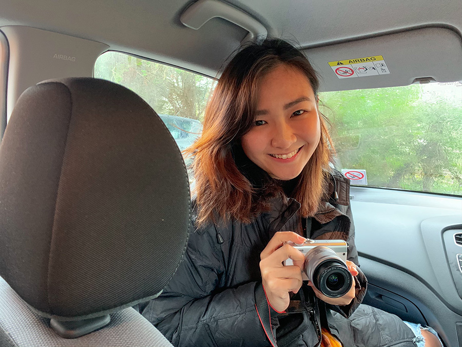 Han Yun in Winchester and Salisbury, with the Canon EOS M200