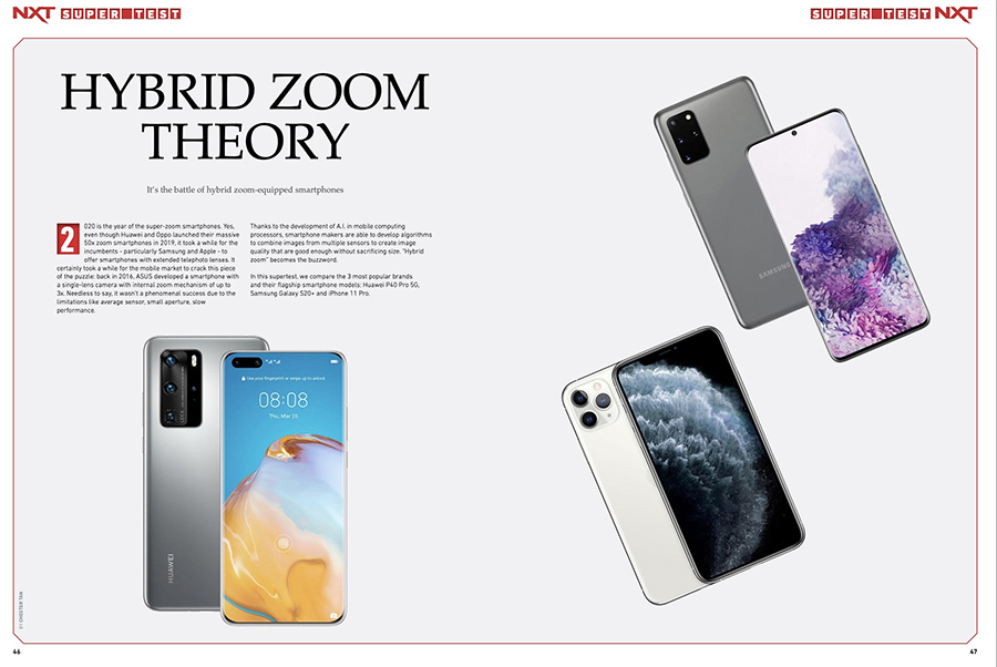 NXT May 2020 issue Smartphone Supertest