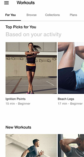 Clarissa's Favourite 5 apps during the circuit breaker Nike Training