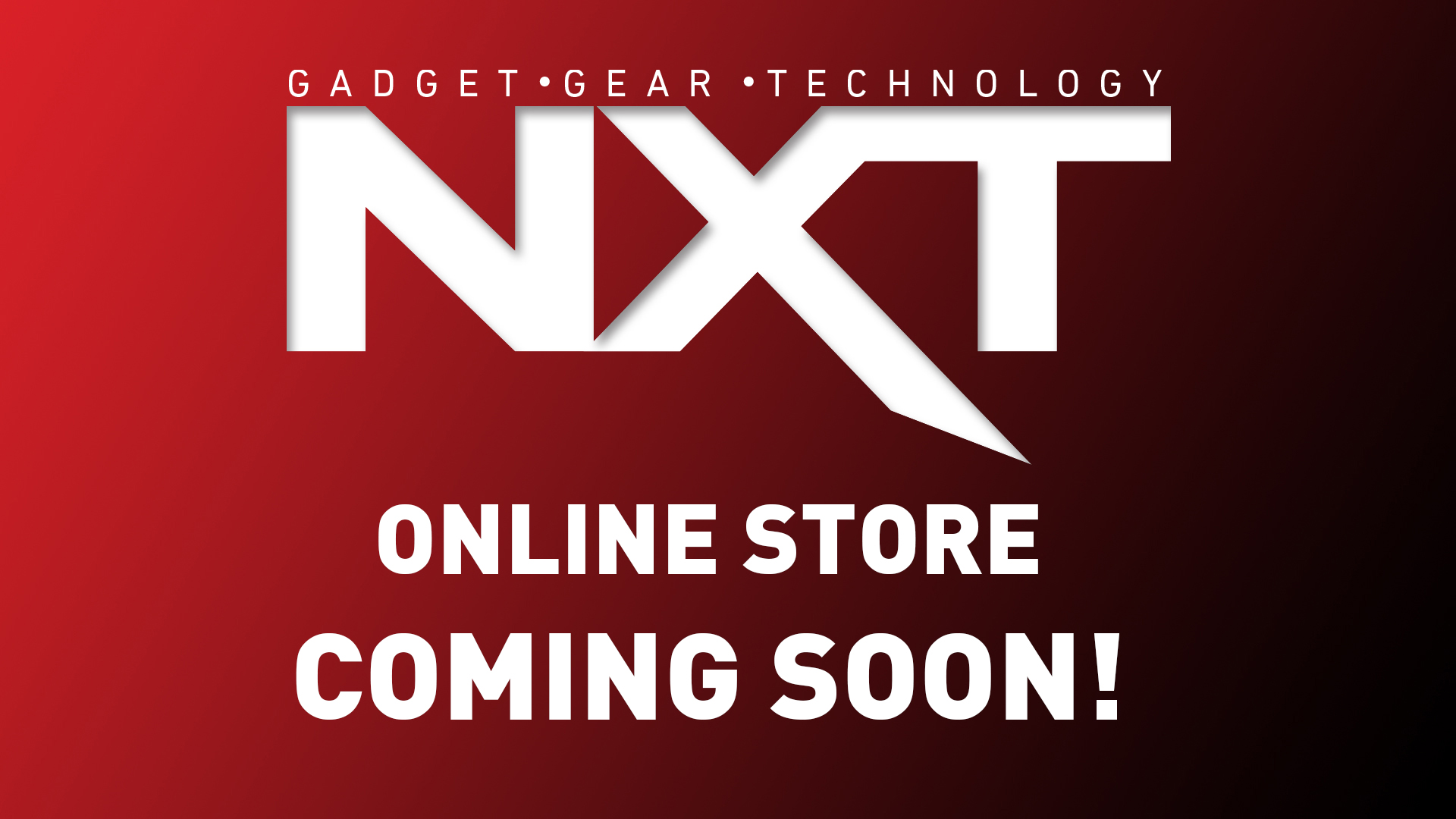 NXT Online Store coming soon promo