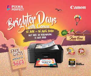 Canon Pixma Perfect July 2020 Ad