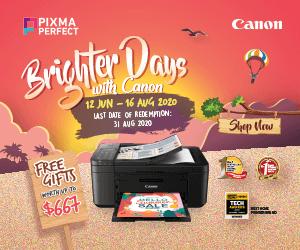 Canon Pixma Perfect July 2020 Ad
