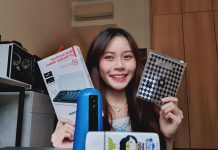 Clarissa with Travelmall hygiene products