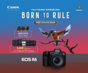 Canon EOS R6 ad
