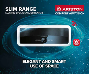 Ariston Slim Range ad