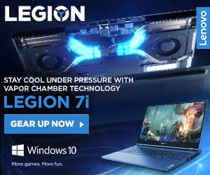 Lenovo Legion 7i ad