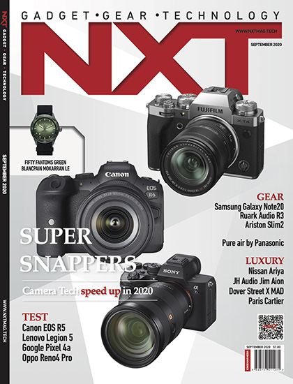 NXT September 2020 issue cover